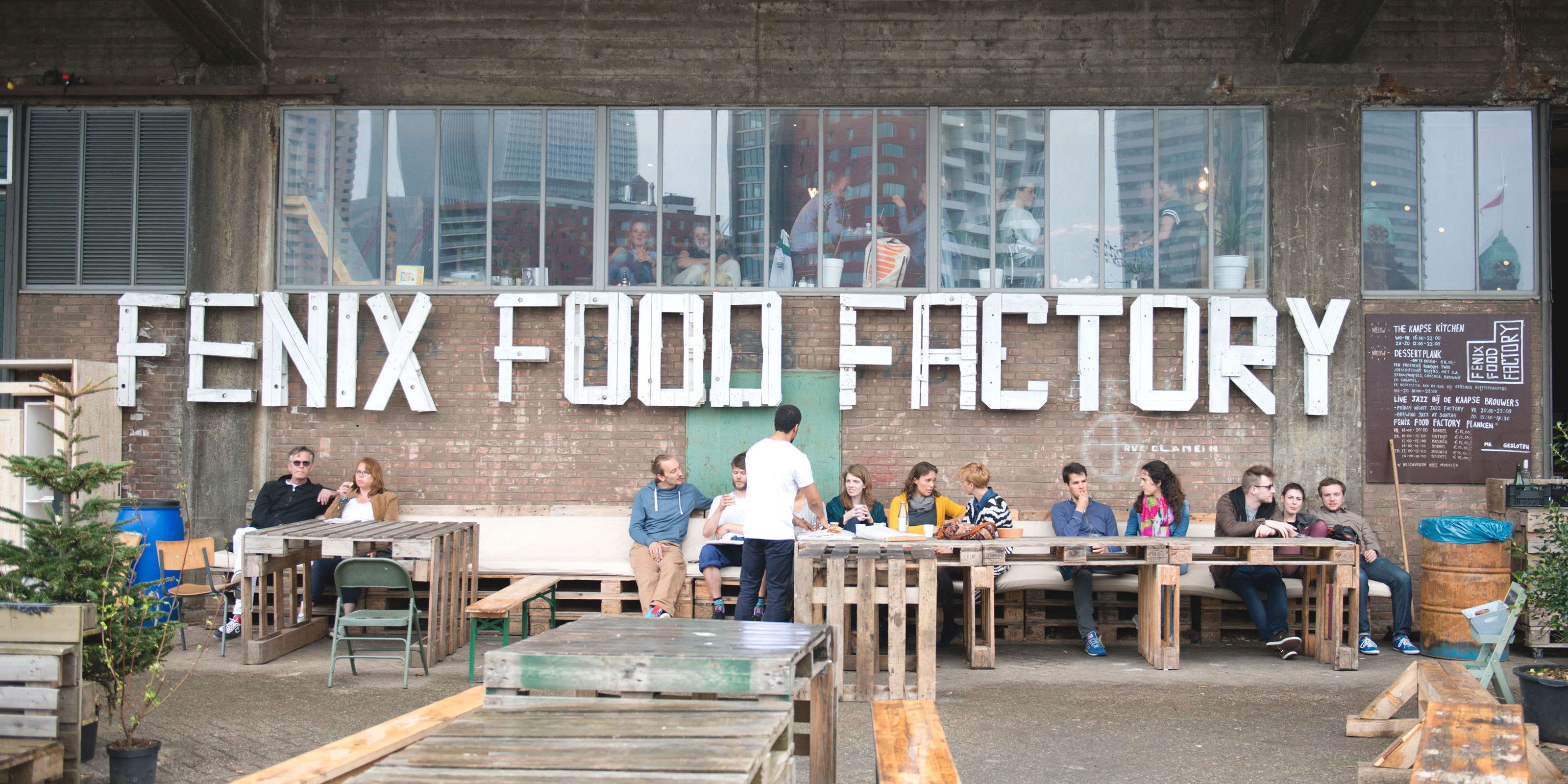 hotspots in rotterdam, fenix food factory