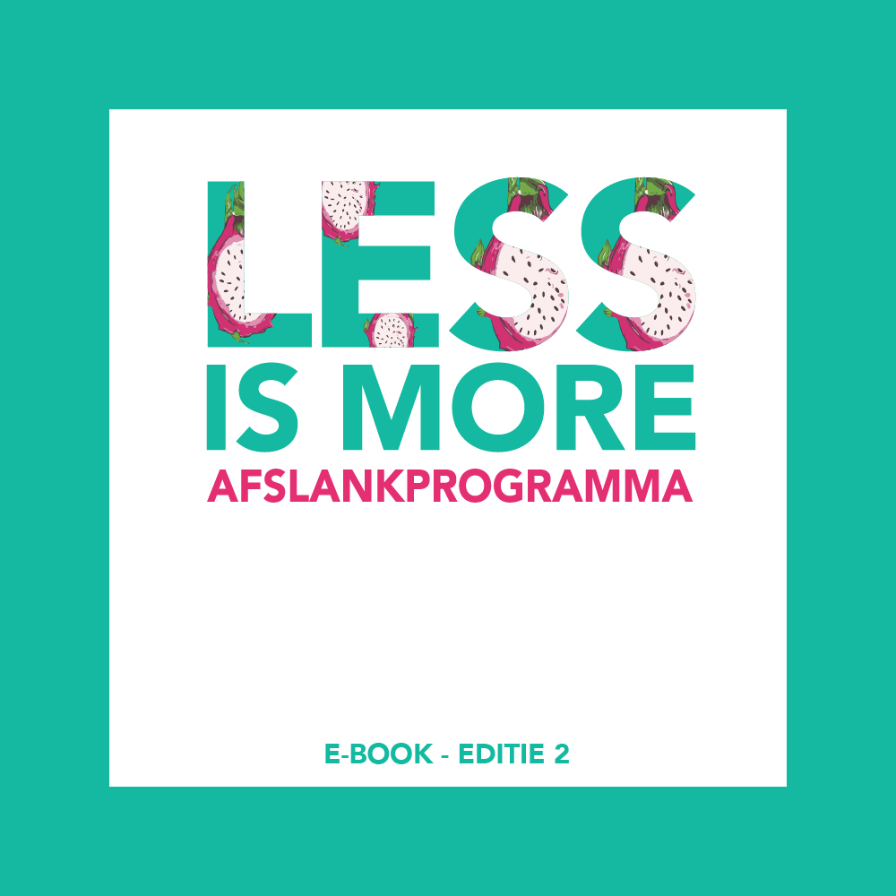 Less is More e-book EDITIE 2, afslankprogramma e-book