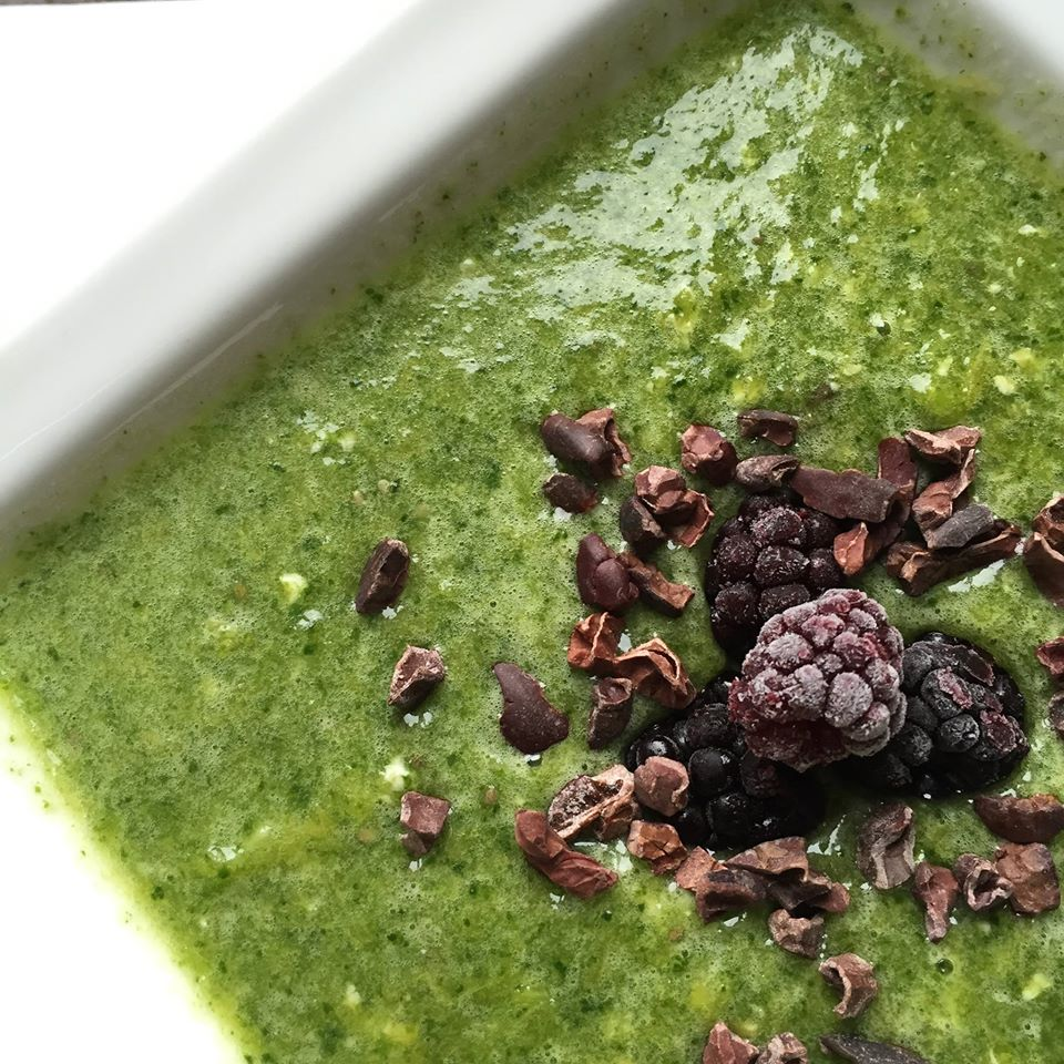 Lisa - lisagoesvegan - eetdagboek - groene smoothie spinazie
