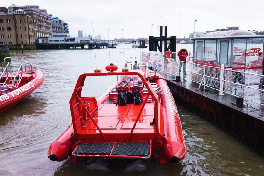 Londen, Asics, speedboot