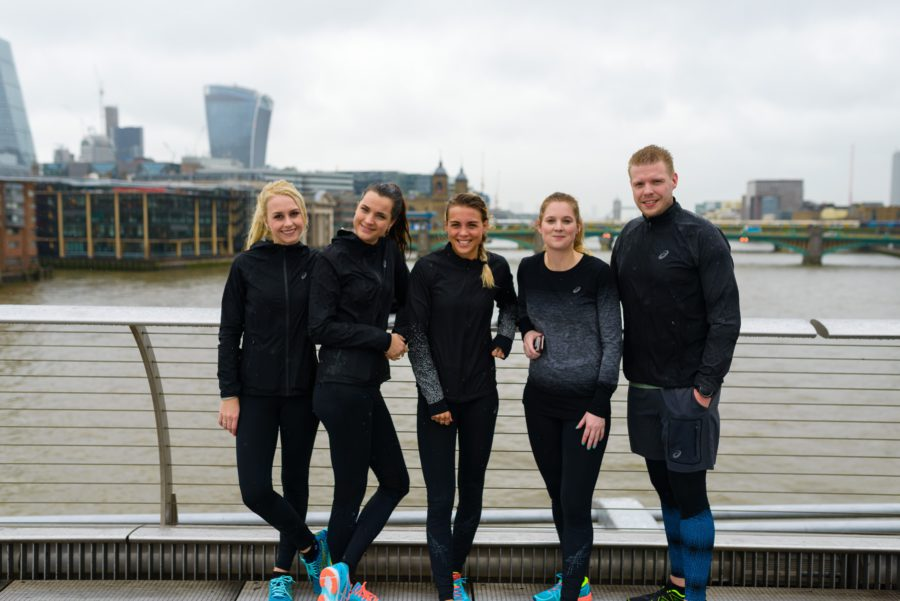 Londen, Asics, hardlopen, groep