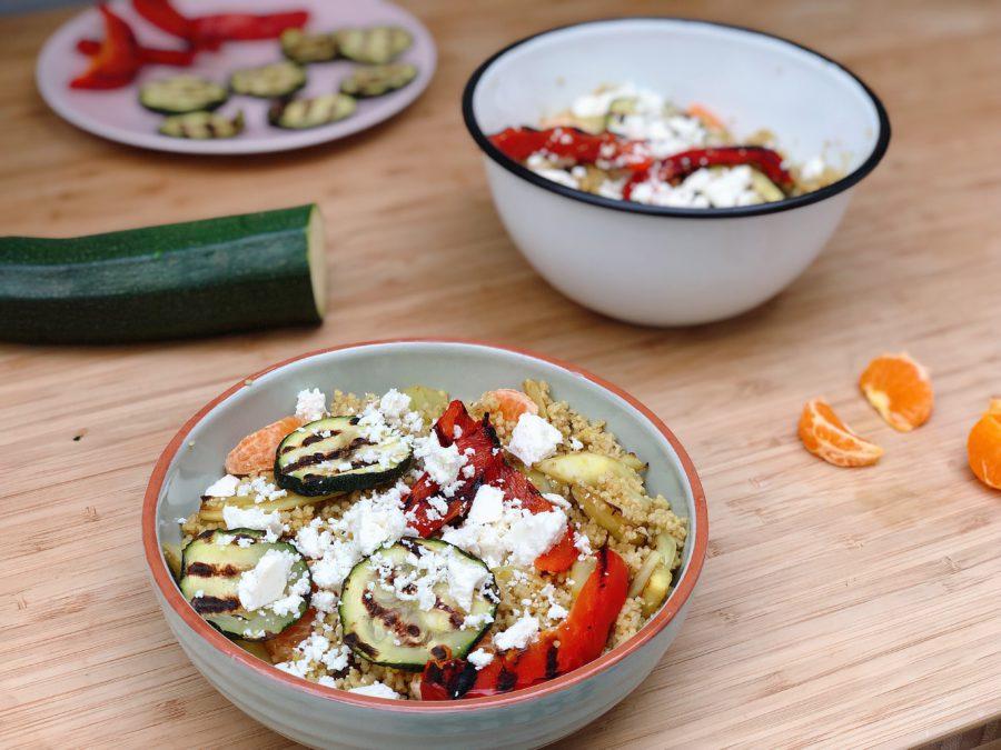 couscous gegrilde groente