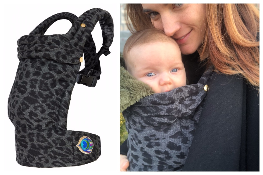 leopard baby carrier artipoppe