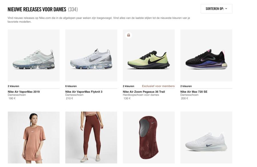 Nike, what's new, nike