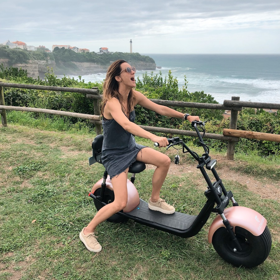 fatmobile, daisy, biarritz
