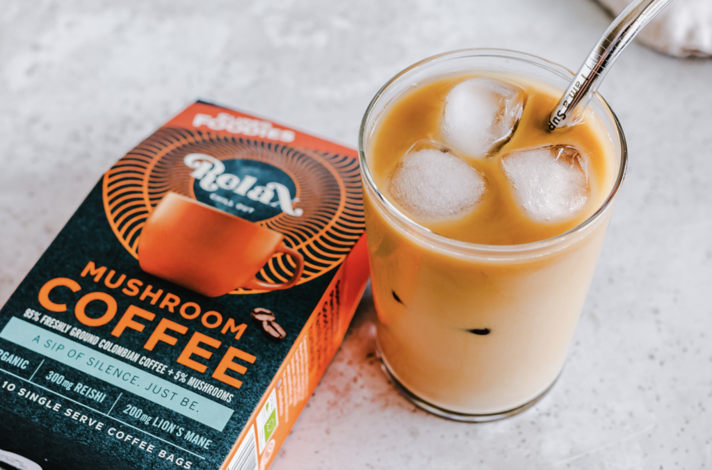mushroom koffie, mushroom coffee, superfoodies