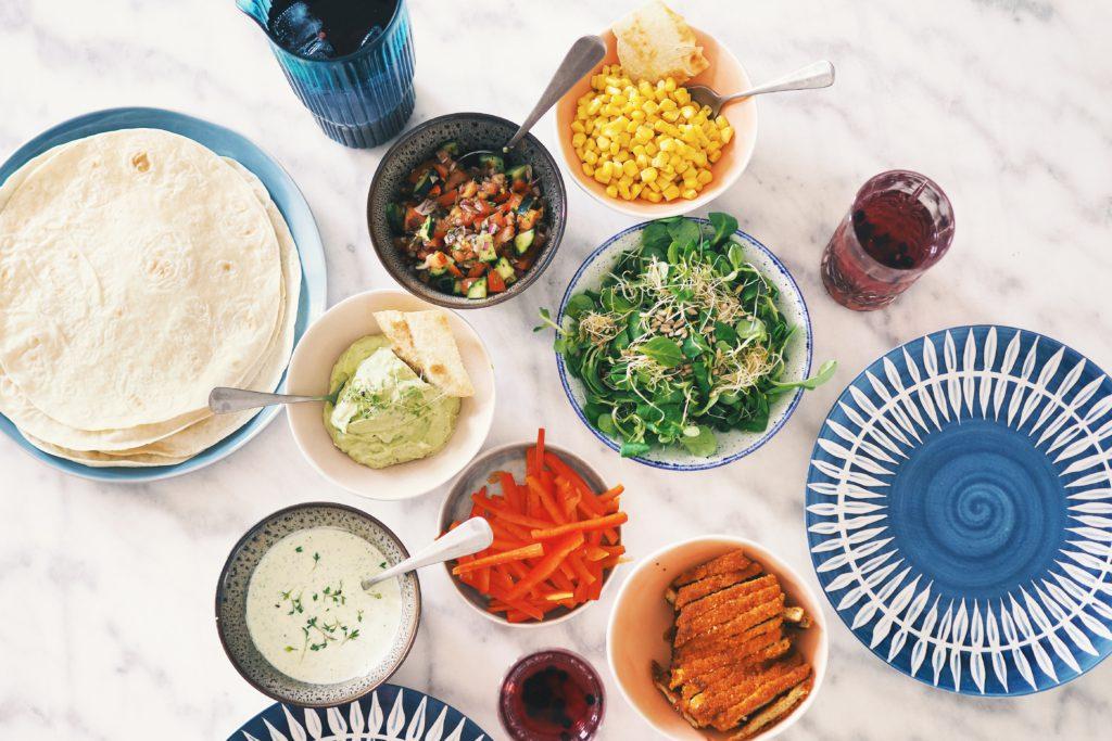 healthy mcchicken, vega, kipwrap