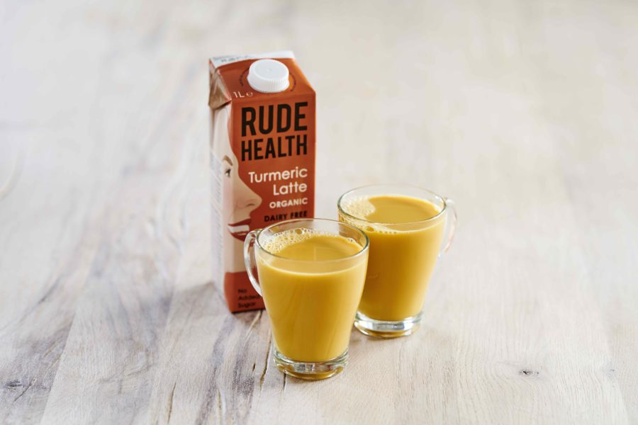Rude health, turmeric latte