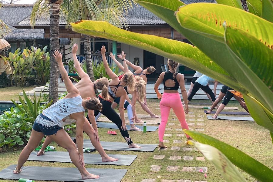 yoga ILH retreat