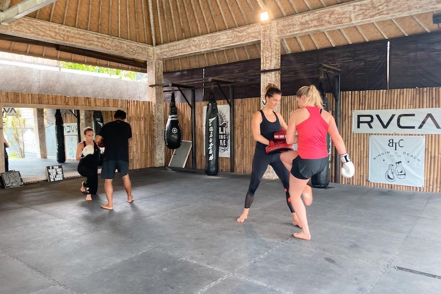 ILH retreat Bali, boksen