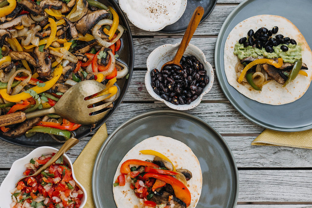 lisa goes vegan, fajita's, lievelingsrecept