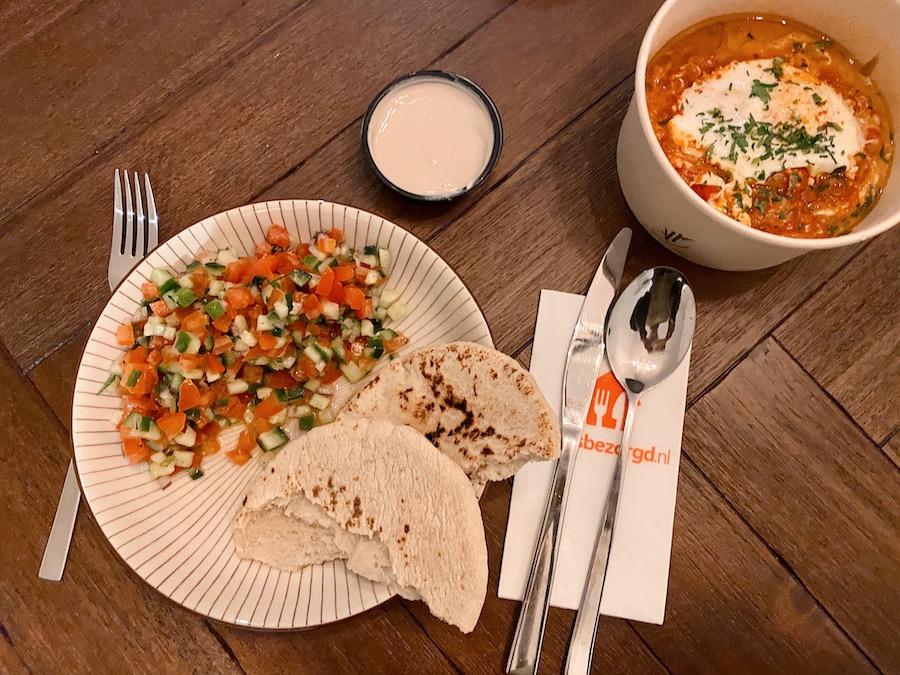 thuisbezorgd.nl experience food ben cohen