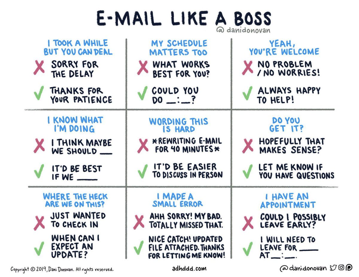 email tips, emailen