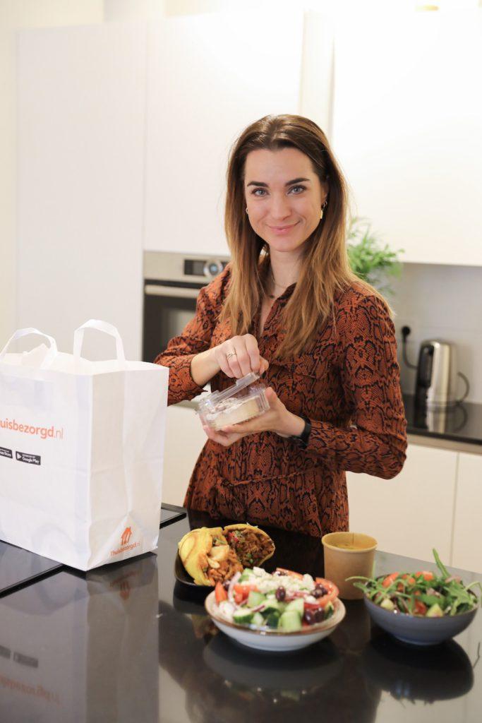 thuisbezorgd.nl experience daisy eten afhaal bestellen