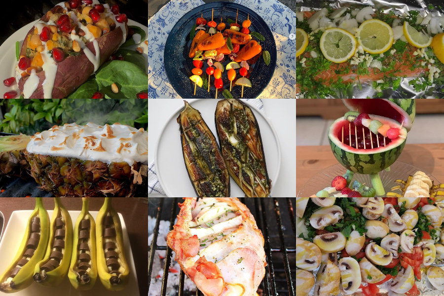 Melhores receitas de churrasco // Entradas Oferta orgânica de Kraut