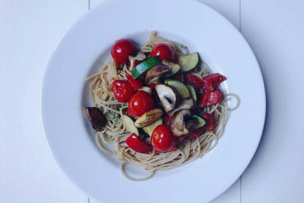 vegan volkoren spaghetti, vegan, spaghetti