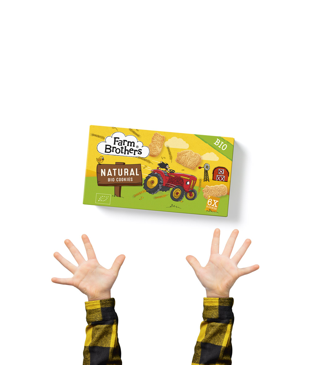 what's new, farm brothers, kids cookies, kids