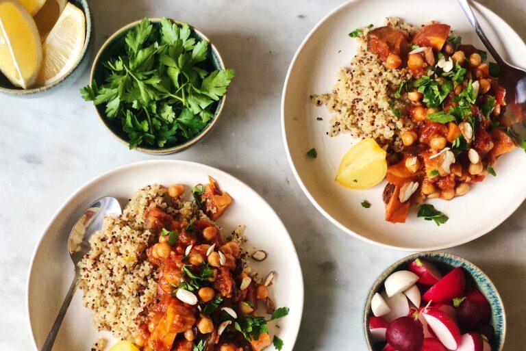 kikkererwtenstoof, gezond, healthy, marrokkaans, recept
