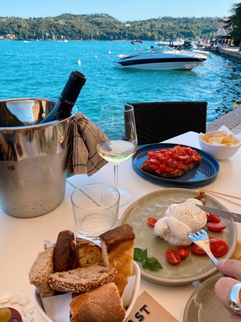 gardameer, italiaanse eten