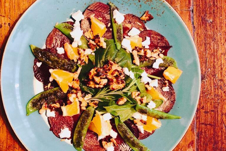 bieten carpaccio, vegan feta, vegan, vega carpaccio