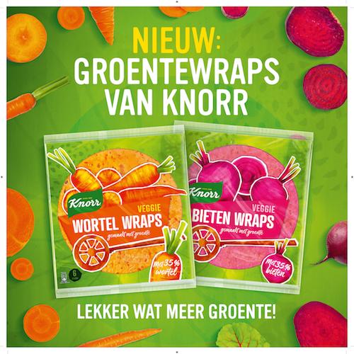 knorr groentenwraps, groenten, nieuw, what's new, knorr