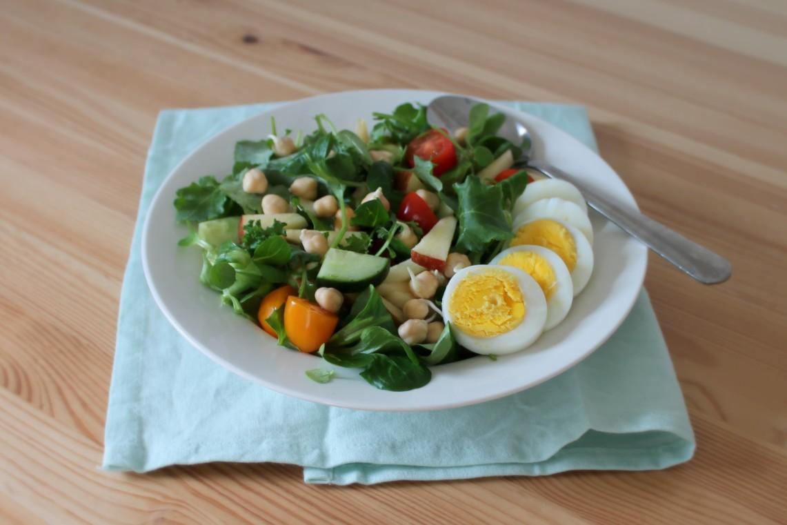 salade met baby boerenkool