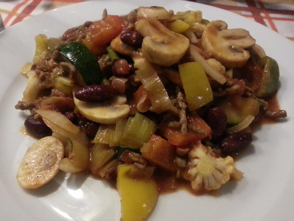 Chili con carne - eetdagboek Giulia