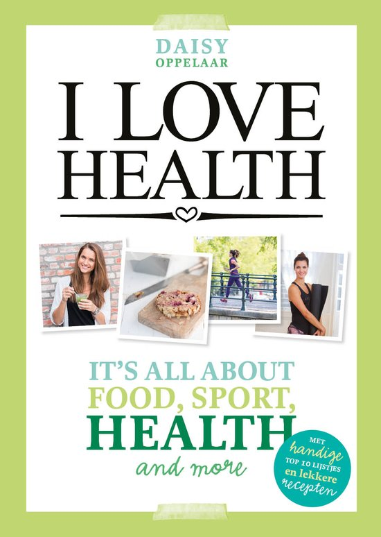 I Love health boek