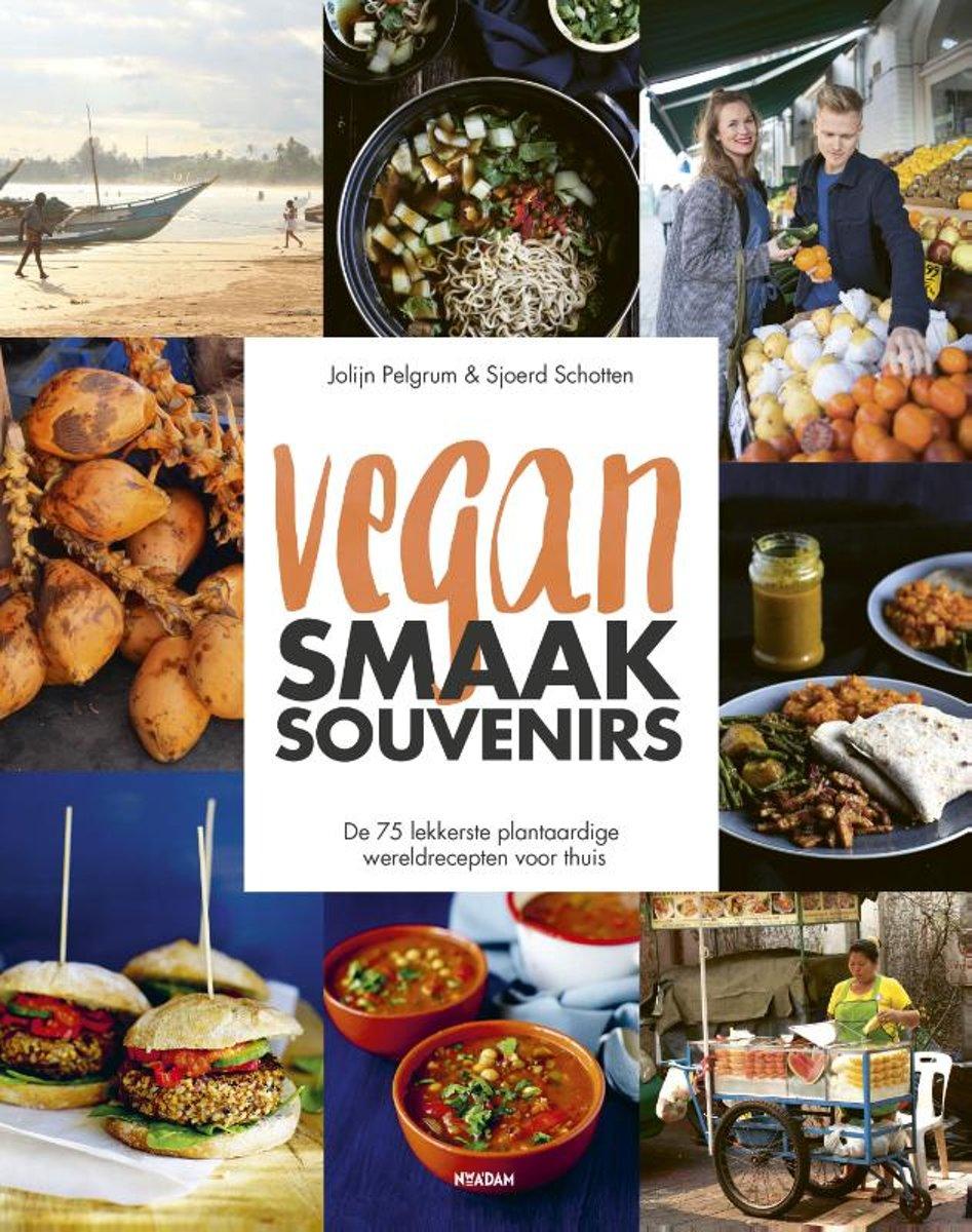 vegan smaak souvenirs boek