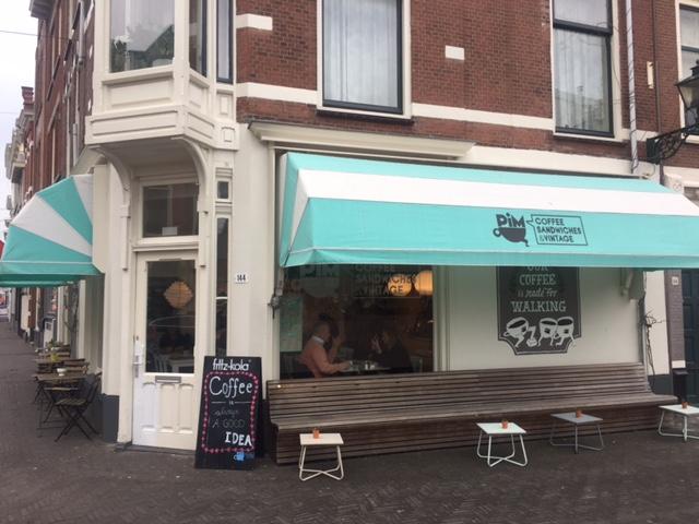 Pim's Coffee den haag, healthy hotspots den haag