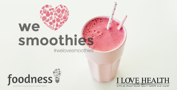 We Love Smoothies - workshop by I Love Health & Foodness