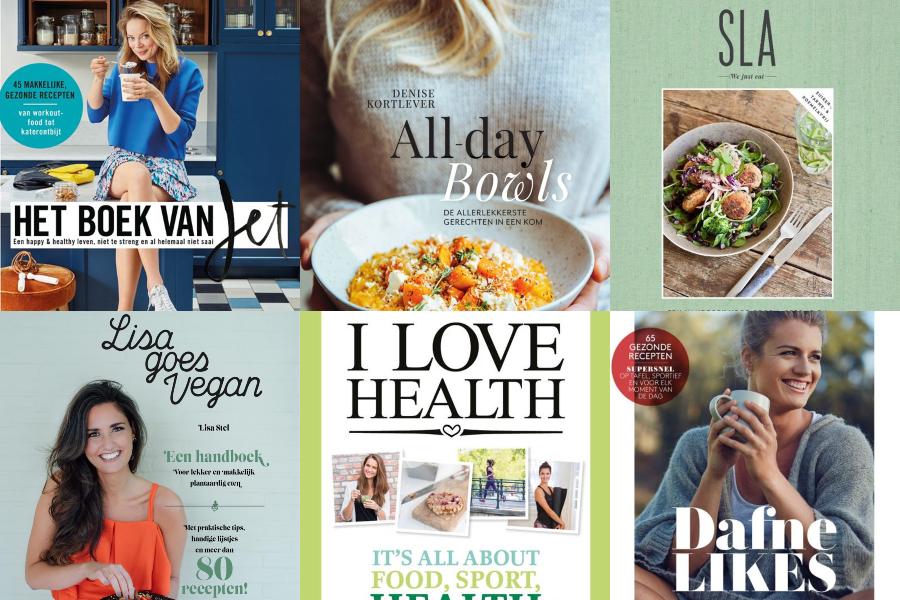 Favoriete kookboeken, jet, dafne, all day bowls, lisa, sla