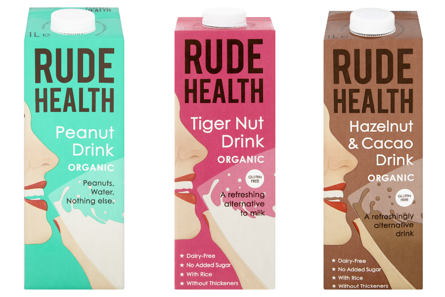 Rude health, vegan, plantaardige melk, what's new juli