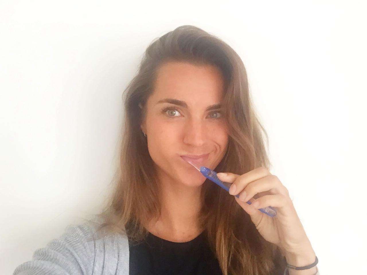 poetsen met de hand oral-B