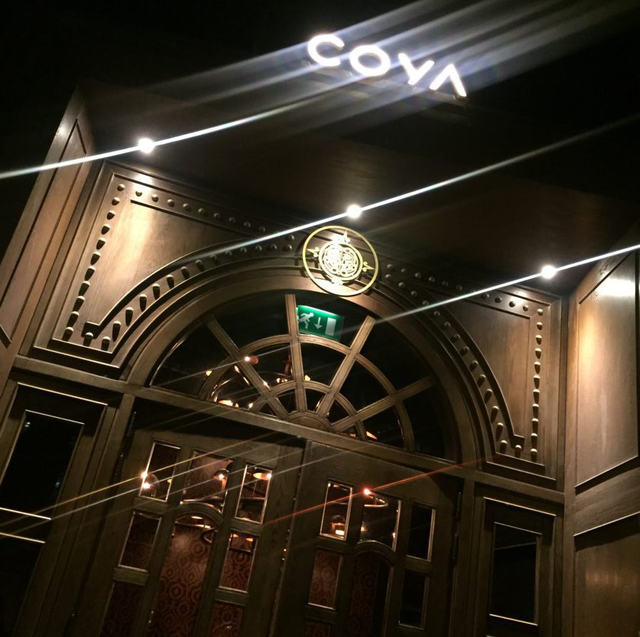 dubai tips, coya restaurant