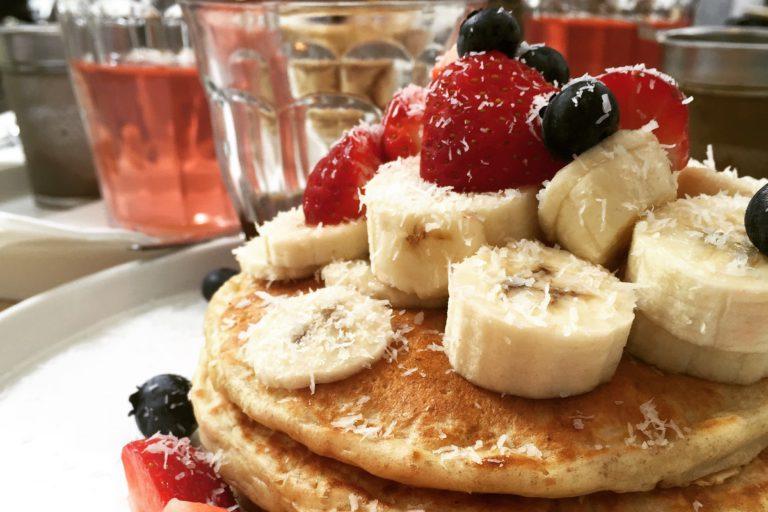 pancakes, pannenkoeken, vegan voor een week
