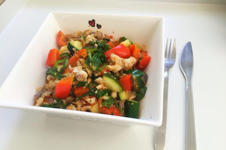 vis stoofpotje met groenten