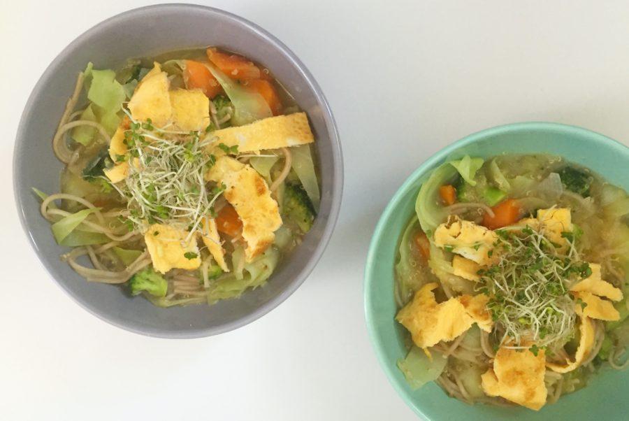 maaltijdsoep van broccoli, skinny recepten