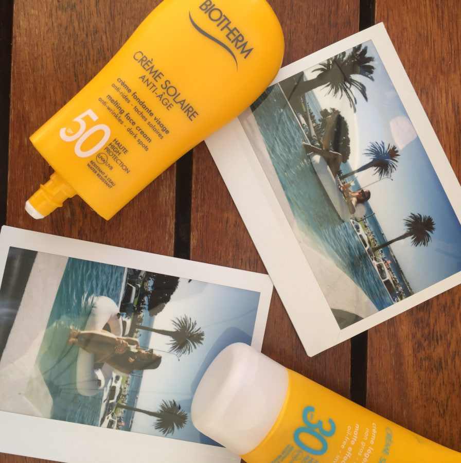 biotherm sun zon, Fluide Solaire Wet or Dry Skin