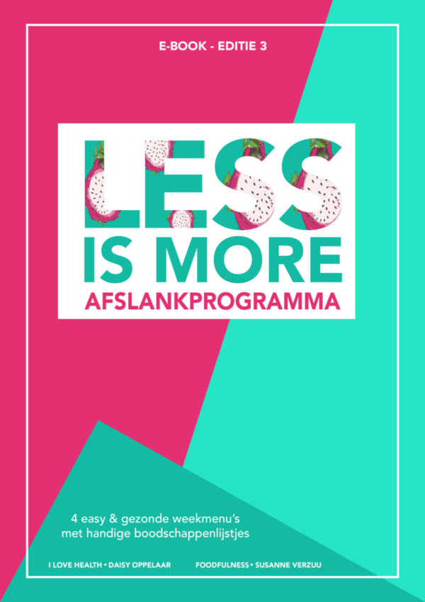 less is more cover e-book