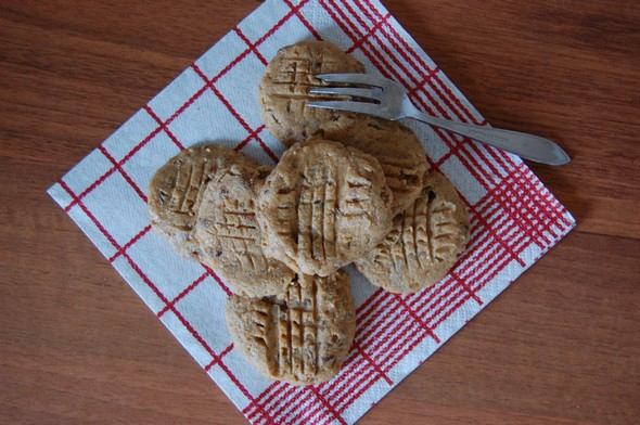 raw koekjes
