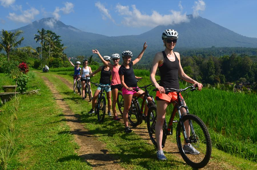 I Love Health Retreat Bali 2-9 oktober 2016, bali bike park, mountainbike