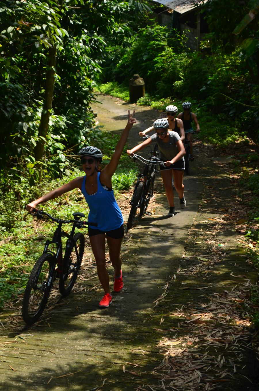 i love health retreat, bali bike park, moutainbike tour jatiluwih