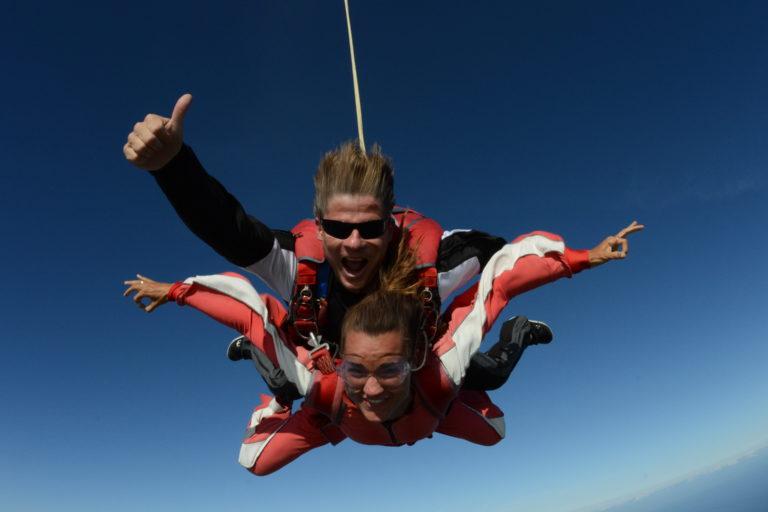 skydiven texel
