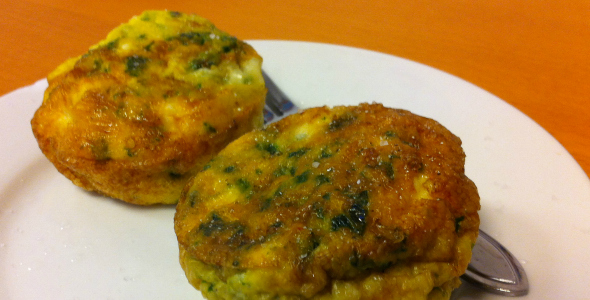 Egg muffins - i love health eetdagboek