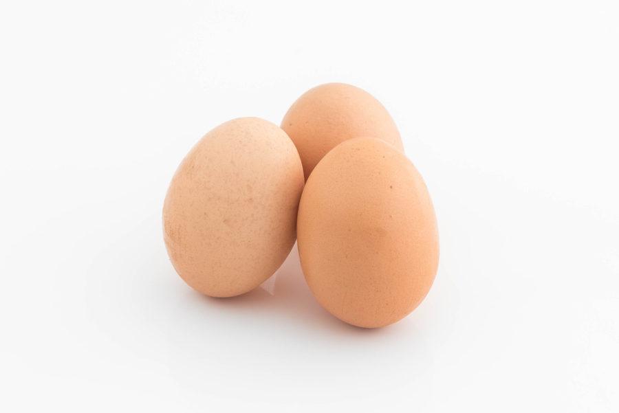 Eieren, macronutriënten, eiwitten