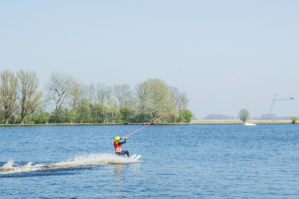 watersporten in friesland, waterskien