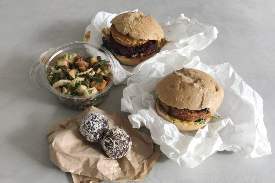 thuisbezorgd.nl gezond bestellen, roots, vega burgers