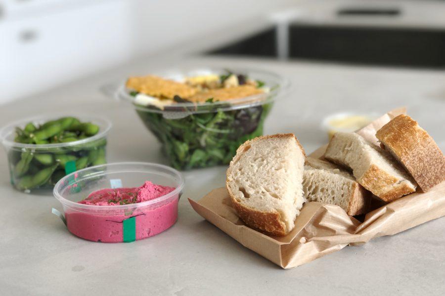 thuisbezorgd.nl gezond bestellen Salad in the City, salade