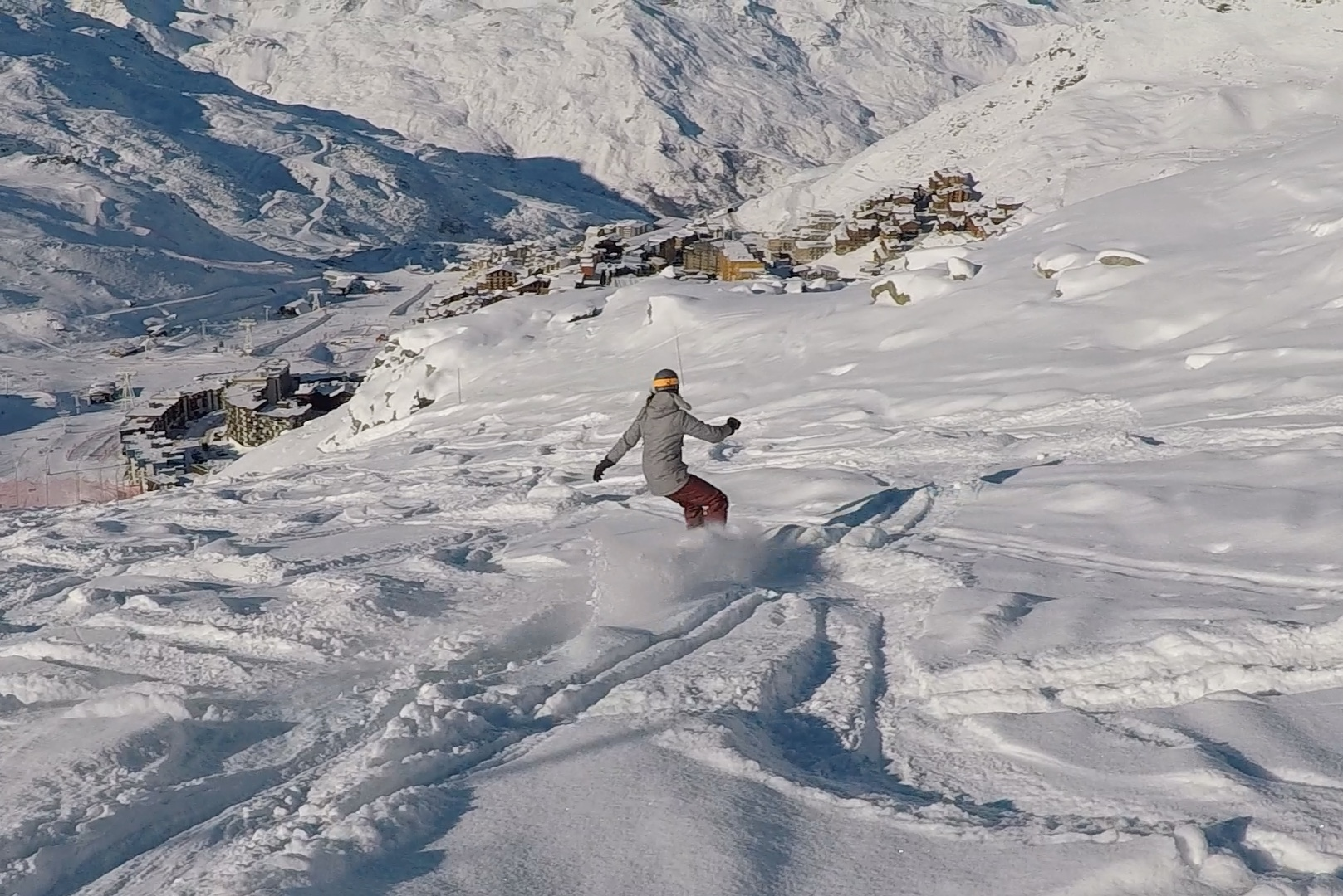 val thorens, wintersport, snowboarden, daisy, sportieve vakantie